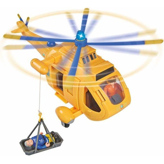 Sam Le Pompier - Hélicoptère Sauvetage Montagne Wallaby 2 Tom Light & Sound