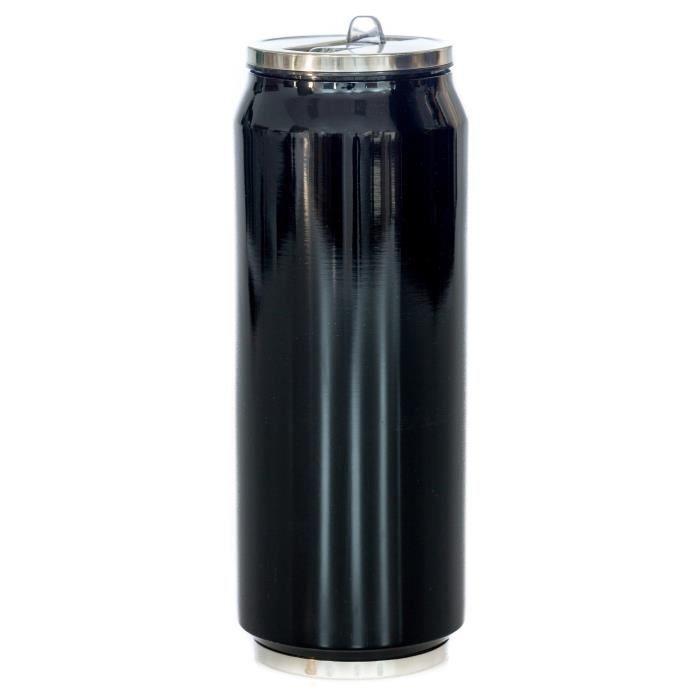 YOKO DESIGN Canette isotherme 500ml brillante noir