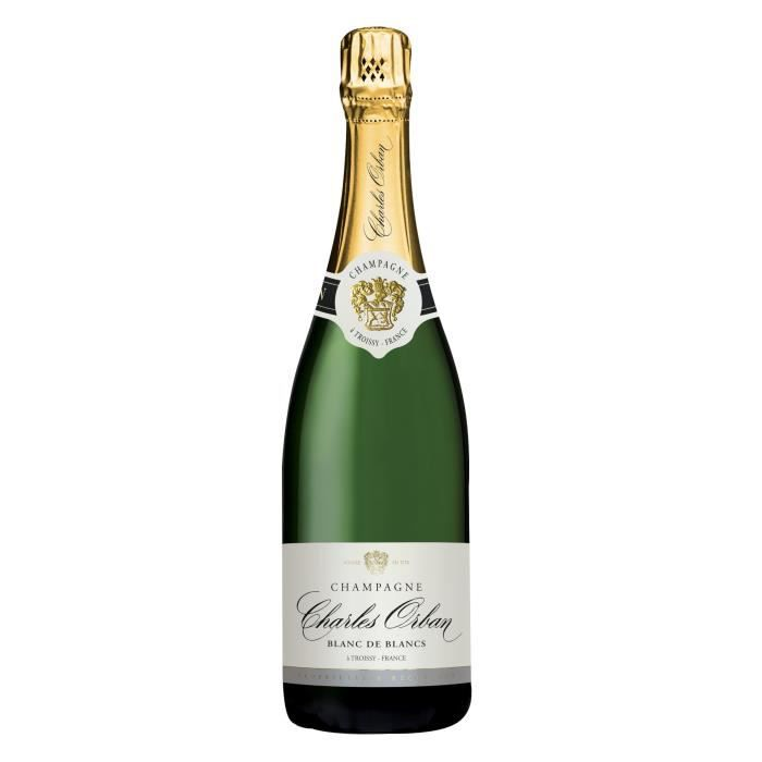 Champagne Charles Orban Blanc de blancs Brut - 75 cl