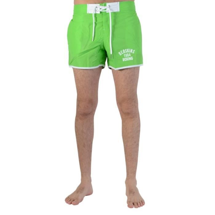 Short De Bain Redskins Red 16 Green