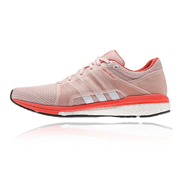 Adidas Adizero Tempo 8 Ssf Baskets Chaussures De Course Running Rose Femme