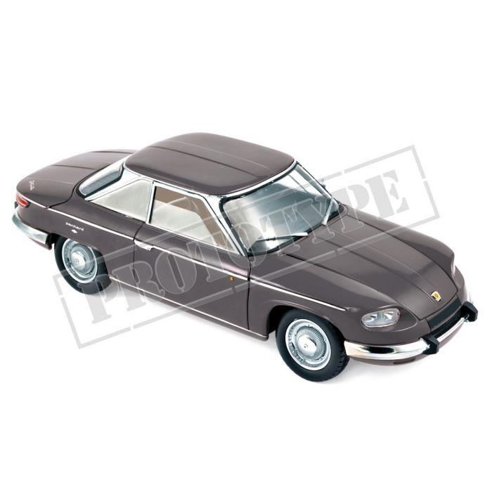 Véhicule Miniature assemble - Panhard 24 CT Gris argent métallisé 1964 1-18 Norev