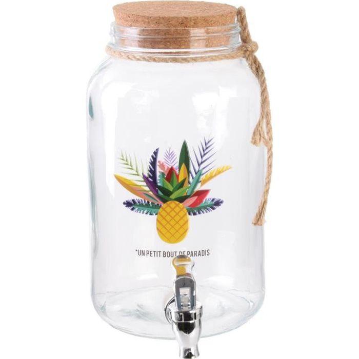 Fontaine à boisson Exotic summer 3.5L Un petit bout de paradis