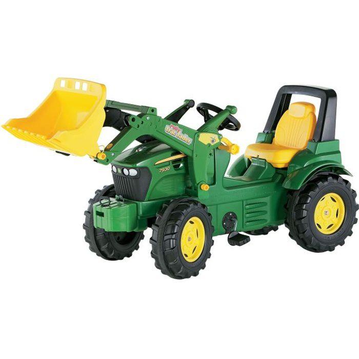 Tracteur à pédales JOHN DEERE 7930 avec chargeur …