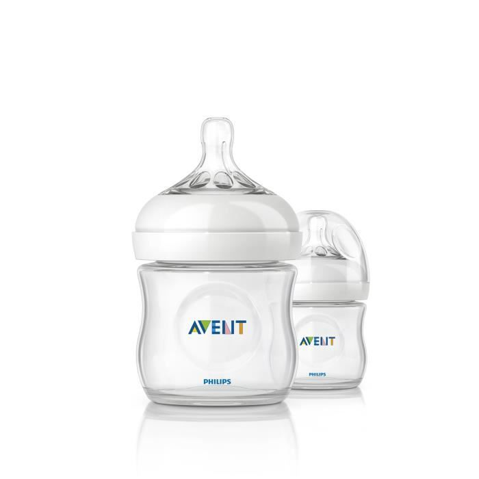 PHILIPS AVENT Natural 2 Biberons 125ml SCF69027