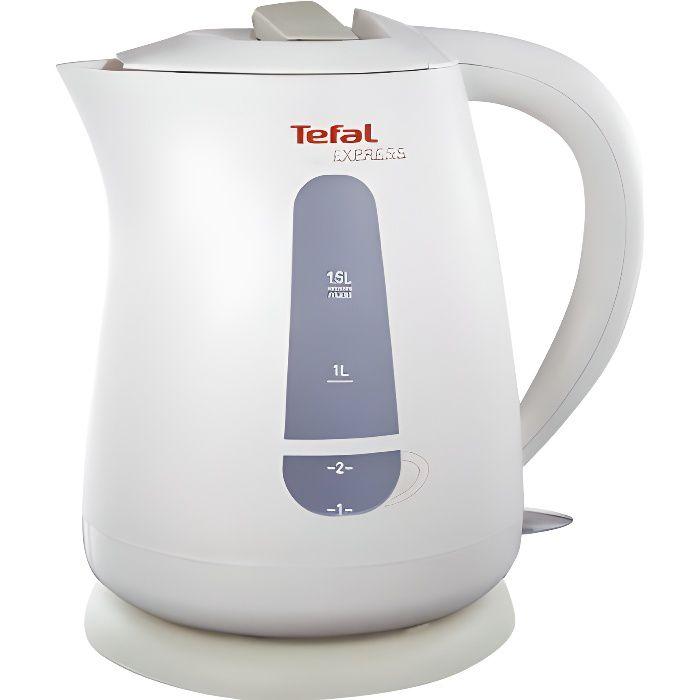Tefal Express Eco (KO299) Bouilloire 1.5 litres 2200 Watt blanc-écru