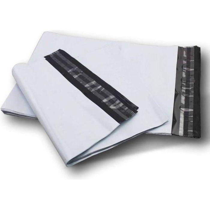lot de 50 enveloppes pochettes A3 plastique opaque 350 x 450 mm