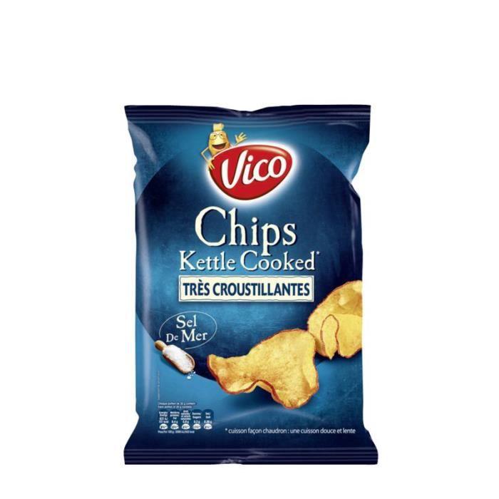 LAYS Chips sel de mer 120 g