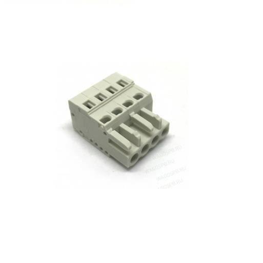 connecteur industriel wago 733-104-000-047 connecteur femelle pour 1 conducteur - 100% protégé contre le mismating - 4 pôles