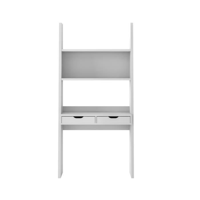 yolo bureau tag re 2 tiroirs blanc achat vente bureau yolo bureau tag re 2 tir. Black Bedroom Furniture Sets. Home Design Ideas