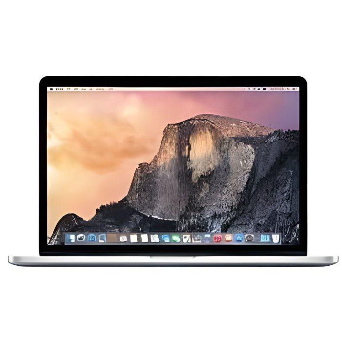 ORDINATEUR PORTABLE Apple MacBook Pro 15.4`` Retina 256 Go Flash Pcie