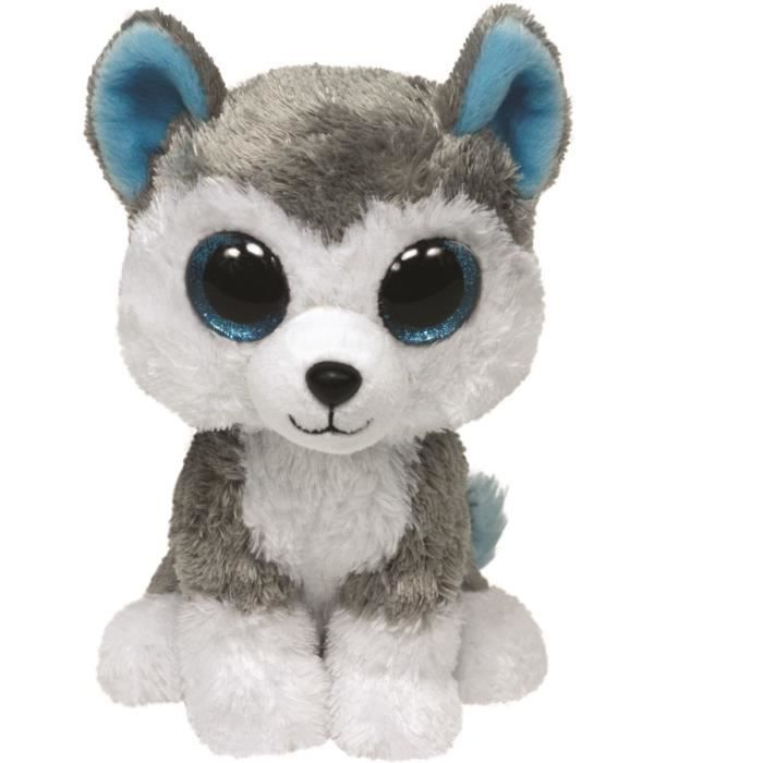 beanie boo 39 s peluche slush chien 23cm achat vente peluche cdiscount. Black Bedroom Furniture Sets. Home Design Ideas