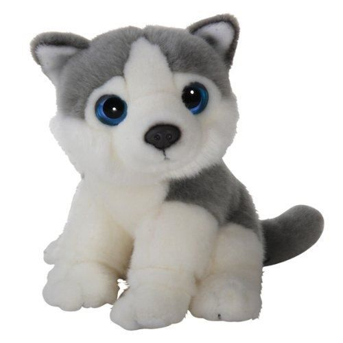 peluche chien husky 18 cm wild watchers wil achat vente peluche cdiscount. Black Bedroom Furniture Sets. Home Design Ideas