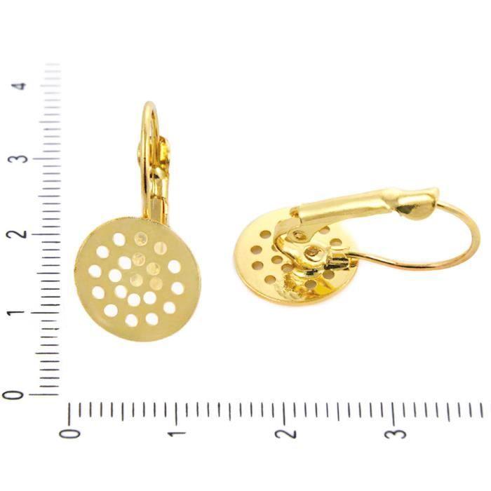 boucle d/'oreille dos Boucles d/'oreilles postes 440pc Boucle d/'oreille conclusions Kit avec boucle d/'oreille crochets