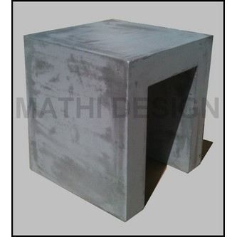 tabouret beton cube achat vente tabouret cdiscount. Black Bedroom Furniture Sets. Home Design Ideas