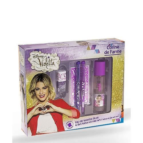 coffret parfum violetta achat vente coffret parfum violetta pas cher cdiscount. Black Bedroom Furniture Sets. Home Design Ideas