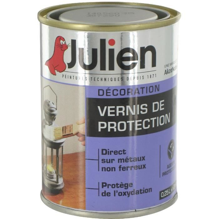 Vernis De Protection Incolore Julien Boîte 250ml