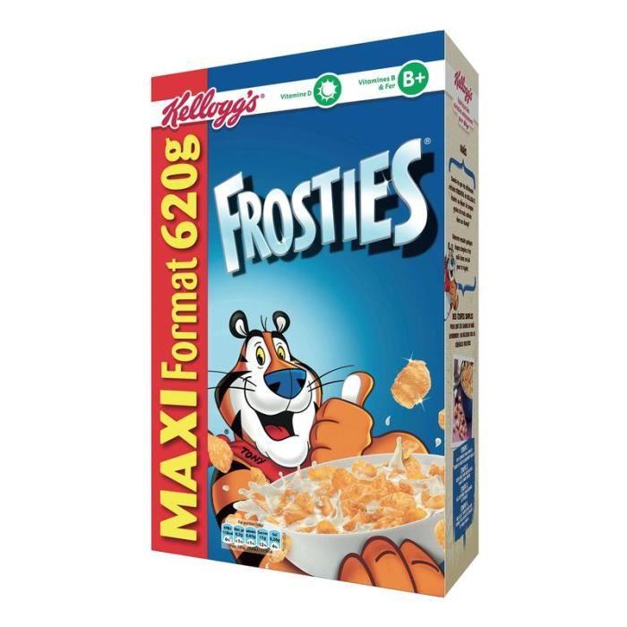 CÉRÉALES PETIT DEJ  KELLOGG'S Frosties Céréales 620g