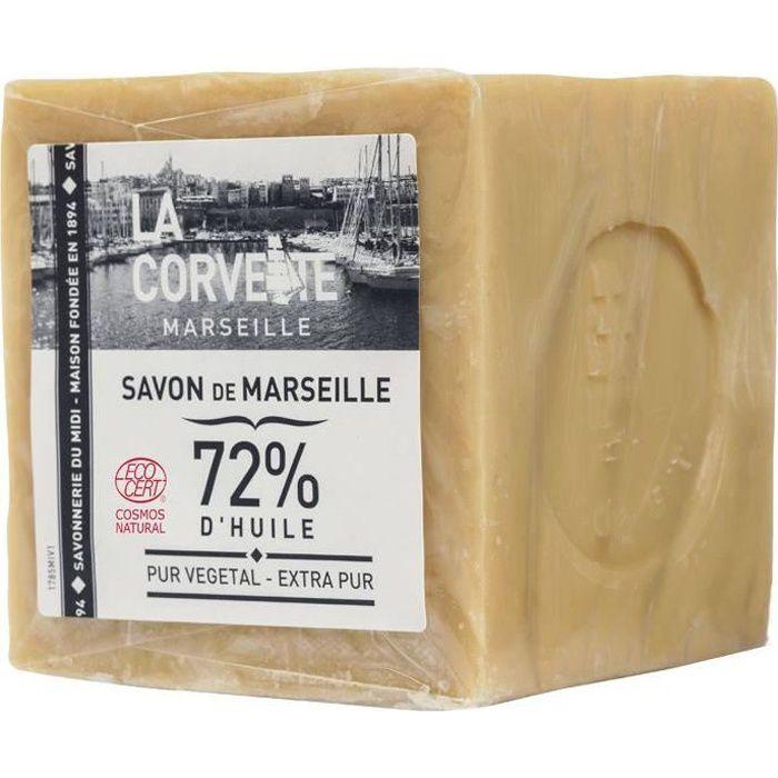 Photo de savon-de-marseille-extra-pur-en-cube-500-grammes