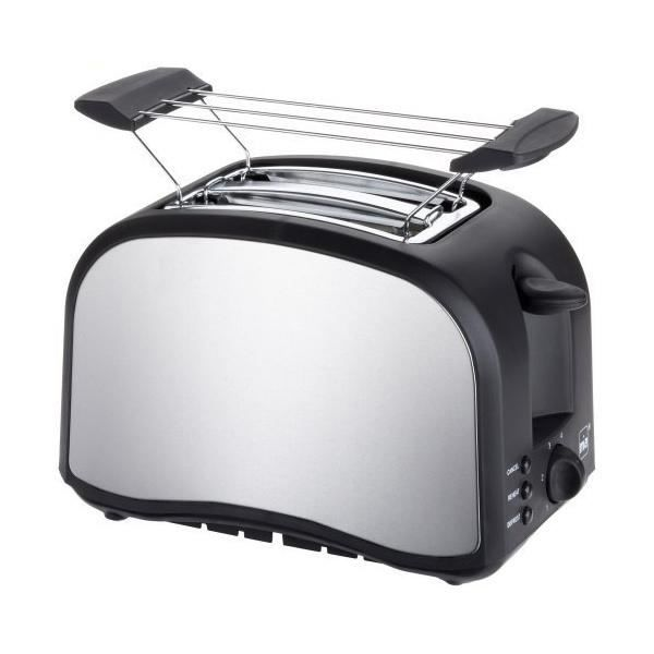 grille pain mia toaster double fente achat vente grille pain toaster cdiscount. Black Bedroom Furniture Sets. Home Design Ideas