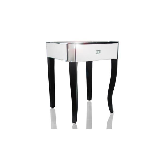 aladino table d 39 appoint design ou chevet miroir achat vente table d 39 appoint aladino. Black Bedroom Furniture Sets. Home Design Ideas