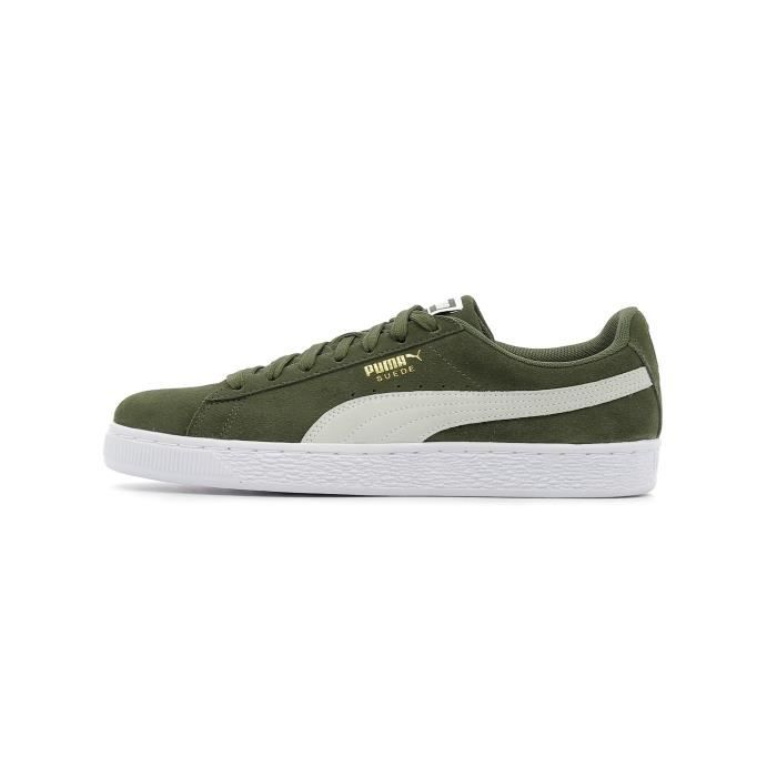 White Suede Baskets Coloris Puma Classic Basses Forest Night 0O8nPwkX
