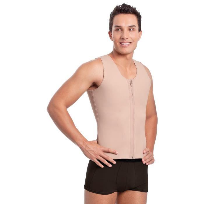 MagiDeal Homme Minceur Gilet avec Manche Courte en N/éopr/ène Respirant et Absorbant T-Shirt de Sutation /à Compression pour Yoga Gym Exercice Fitness Sports
