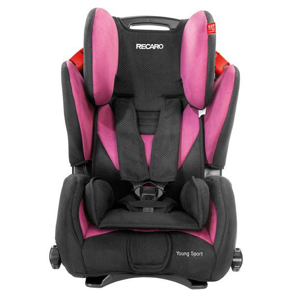 si ge auto recaro young sport groupe 1 2 3 pink achat. Black Bedroom Furniture Sets. Home Design Ideas