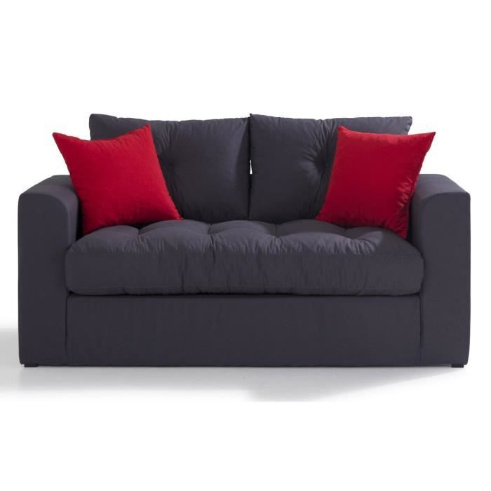 calypso canap mousse convertible achat vente canap sofa divan cdiscount. Black Bedroom Furniture Sets. Home Design Ideas