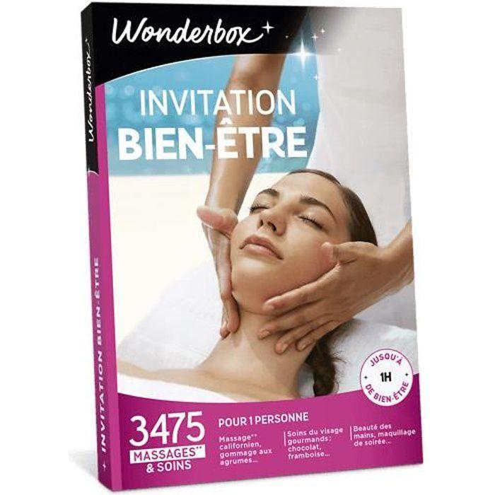 COFFRET BIEN-ÊTRE Wonderbox - idée cadeau saint valentin - Invitatio