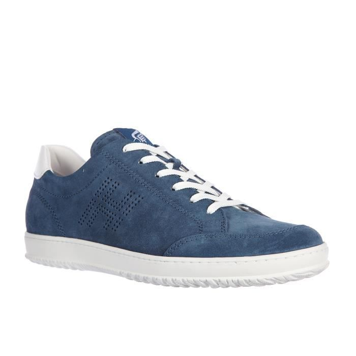Chaussures baskets sneakers homme en daim h168 low top h forata Hogan