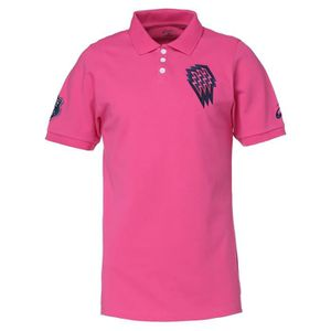 MAILLOT DE RUNNING ASICS Polo Rugby Stade Français Homme - Rose
