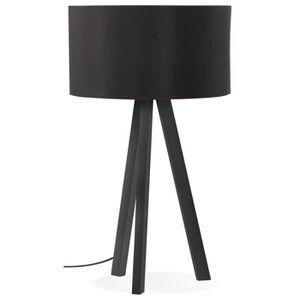 Noir E14 Ampoule Lampe Douille Interrupteur Verre Abat-Jour Retenue Spring