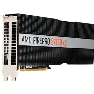 CARTE GRAPHIQUE INTERNE AMD FirePro S7150 x2 Carte graphique 2 GPUs FirePr