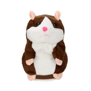 POUPÉE Adorable intéressant parler parler hamster souris