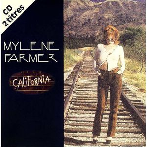 CD VARIÉTÉ FRANÇAISE california cd single pochette carton mylene farmer