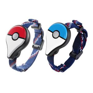 CÂBLE JEUX VIDEO 2pcs Bracelet Connecté Pokémon Go Plus - Rouge + B