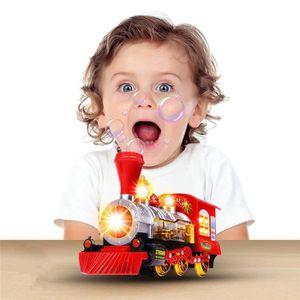 VOITURE ELECTRIQUE ENFANT Locomotive à vapeur train moteur de voiture Bubble