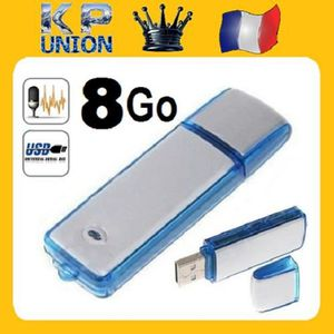 CLÉ USB SIMPLISIM: MINI DICTAPHONE USB ENREGISTREUR VOCAL