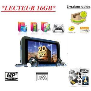 LECTEUR MP4 Lecteur MP3 MP4 MP5 16GB ecran LCD 3.0
