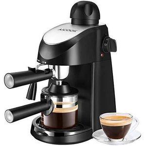 COMBINÉ EXPRESSO CAFETIÈRE Cafetiere Expresso, Machine à Café 800W, Machine à