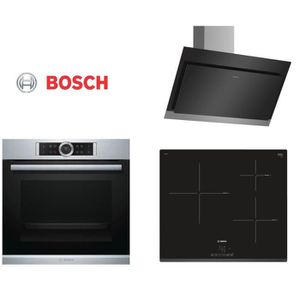 FOUR PACK cuisson BOSCH - HBG675BS1F Four + PIJ631BB1E