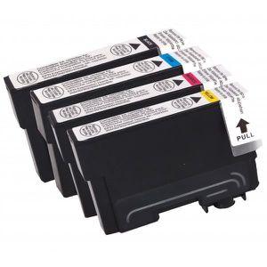 PACK CARTOUCHES Lot de 4 cartouches d'encre compatibles pour Epson