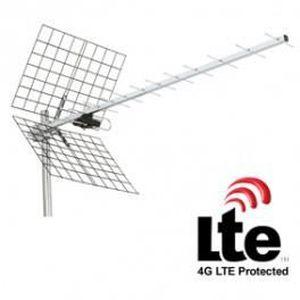 ANTENNE RATEAU antenne uhf 12 elements avec filtre lte