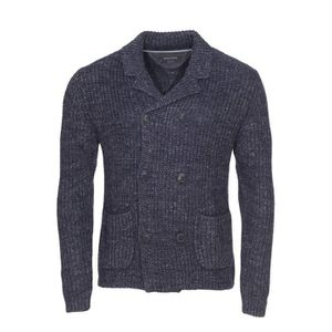 10ce95acee024 Marc O'Polo - pull Bleu chine - Achat / Vente gilet - cardigan ...