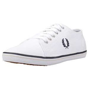 Fred Perry Kingston Mixte Baskets Gris Noir - 12 UK y1R5ivX