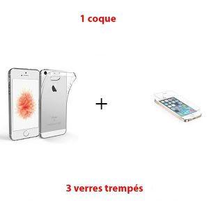 Vitre coque iphone 5s