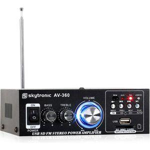AMPLIFICATEUR HIFI AV-360 ampli HiFi stéréo USB SD MP3 AUX FM