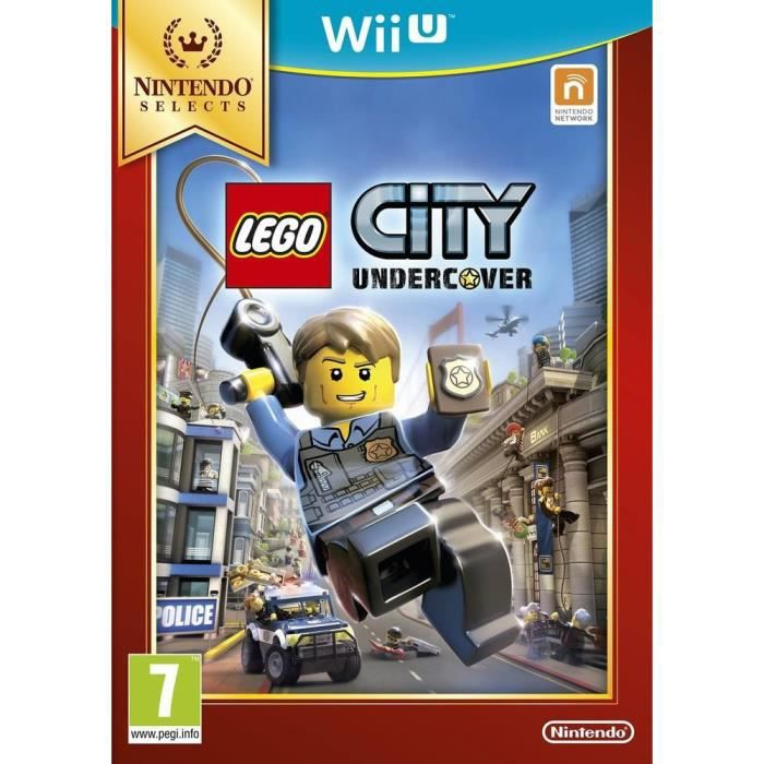 Lego City Undercover Select Jeu Wii U