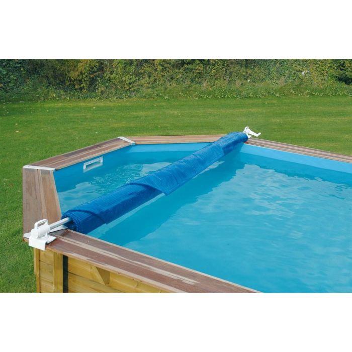 UBBINK Enrouleur de bâches de piscine - léger - amovible